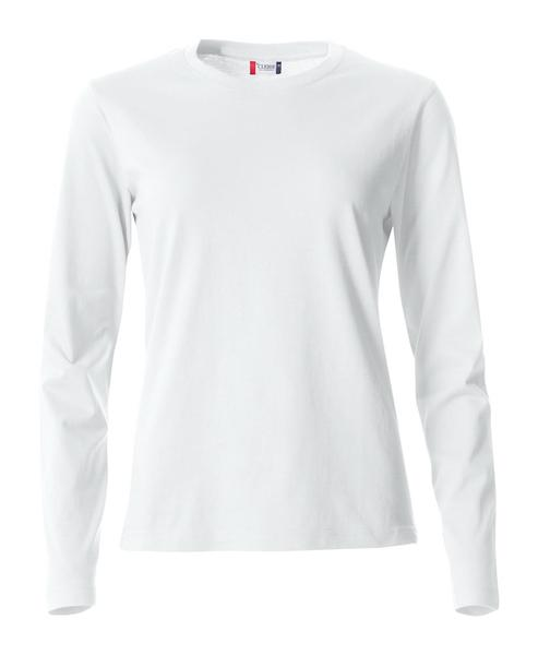 029034 - Basic-T Long Sleeve Lady - 00 bianco