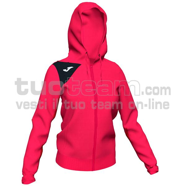 900869 - GIACCA SPIKE II 90% polyester fleece 10% elastan - 501 FUSCIA / NERO