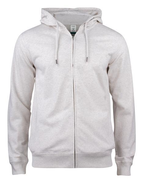021004 - Premium O.C. Hoody Full Zip - melange naturale