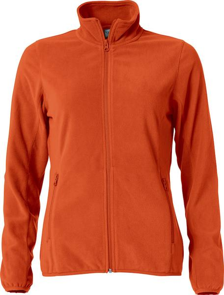 023915 - Basic Micro Fleece Jacket Lady - 18 arancione