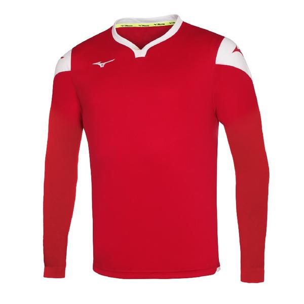 P2EA8900 - GAME SHIRT RUNBIRD L/S JUNIOR - Red/Red