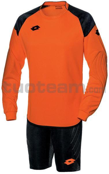 S3745 - KIT PORTIERE M/L junior CROSS arancio fluo/nero