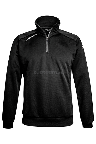 0022297 - ATLANTIS 2 FELPA 1/2 ZIP - BLACK