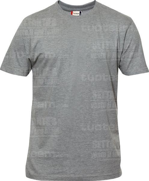 029340 - T-SHIRT Premium-T Mens - 95 grigio melange