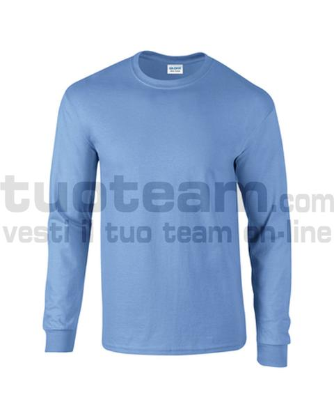 GL2400 - Ultra Cotton Maglia G/C-M/L 100% Cot. 205 gr/m2 - Carolina Blue