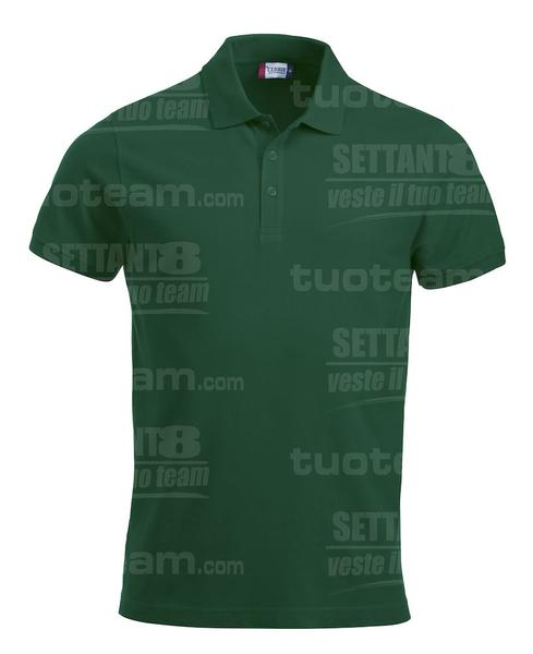 028244 - POLO New Classic Lincoln S/S - 68 verde bottiglia