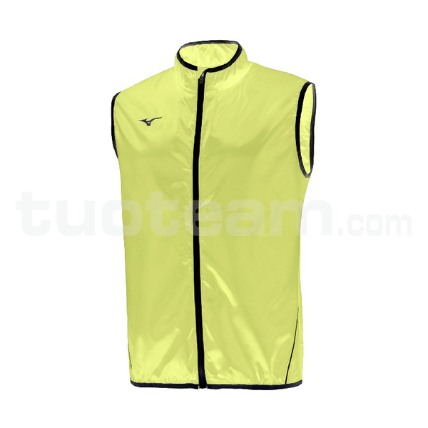 U2EE7102 - Authentic Rain gilet - Yellow Fluo/Royal
