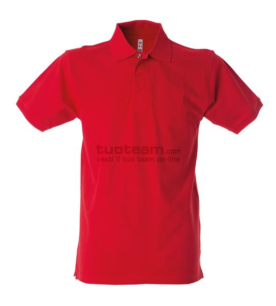 99103 - Polo Colombia Man - ROSSO