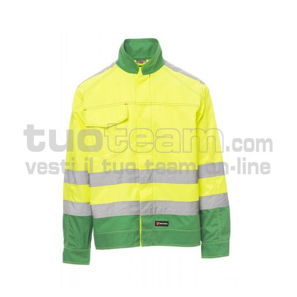 SAFE HI-VI - SAFE HI-VI TWILL 245/250GR - GIALLO FLUO / VERDE