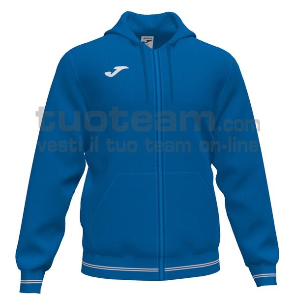 101590 - CAMPUS III FELPA FULL ZIP CAPPUCCIO 65% polyester 35% cotton - 700 ROYAL