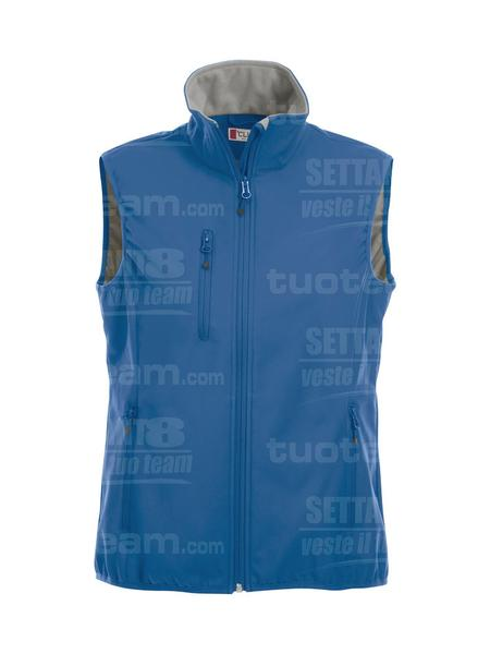 020916 - GILET Basic Softshell Vest Ladies - 55 royal