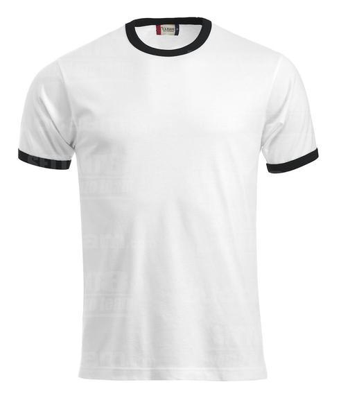 029314 - T-SHIRT Nome - 0099 bianco/nero