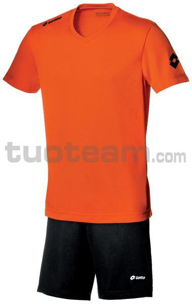 Q8524 - MAGLIA TEAM EVO M/L arancio fluo