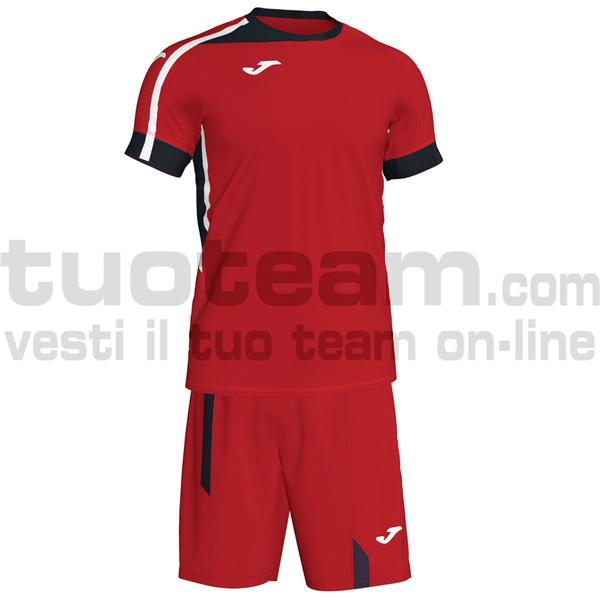 101274 - ROMA II SET MAGLIA MC + SHORT 100% polyester interlock