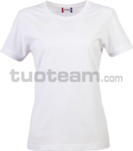 029031 - Basic-T T-SHIRT Lady - 00 bianco