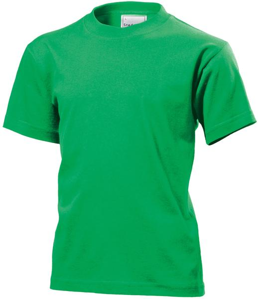 ST2200 - Classic Maglia Bambino G/C M/C 100% Cot 155 gr/m2 - Kelly Green