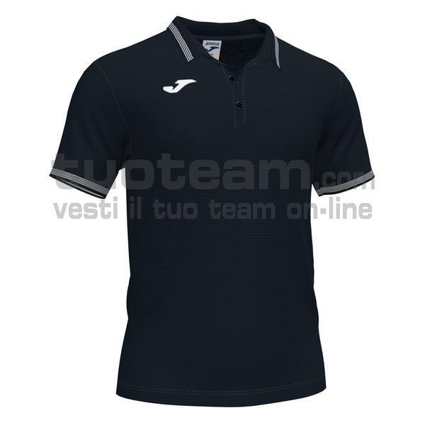 101588 - CAMPUS III POLO 100% polyester interlock - 100 NERO