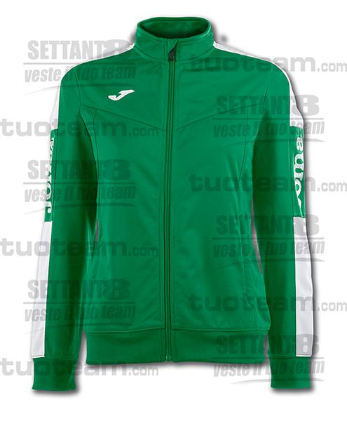 900380 - CHAMPIONSHIP IV WOMAN GIACCA TRICOT - 452 VERDE/BIANCO