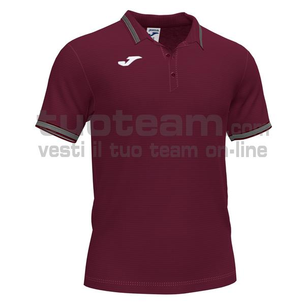 101588 - CAMPUS III POLO 100% polyester interlock - 671 BORDEAUX