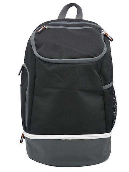 780087 - Zainetto Backpack 24 - NERO / GRIGIO
