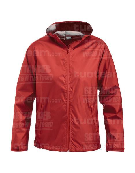 020951 - IMPERMEABILE Hixson - 35 rosso