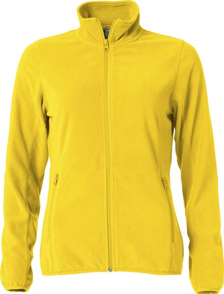 023915 - Basic Micro Fleece Jacket Lady - 10 giallo limone