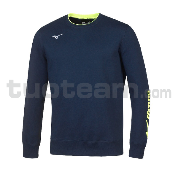 32EC7007 - Sweat felpa girocollo - Navy/White