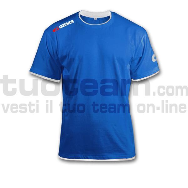 JC01 - T-shirt Egitto - ROYA/WHITE