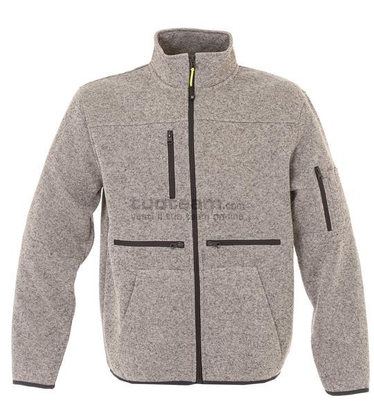 99179 - Knitted Fleece Hannover - LIGHT GREY