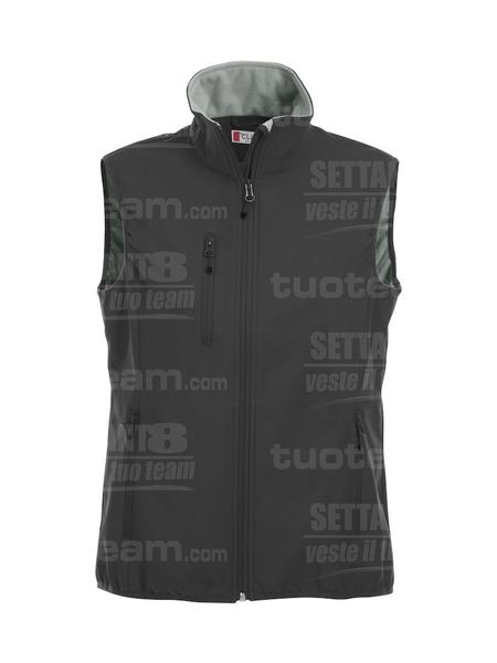 020916 - GILET Basic Softshell Vest Ladies - 99 nero
