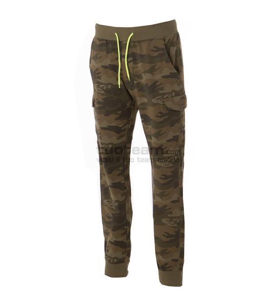 99007 - Pantalone Damasco Man - CAMOUFLAGE GREEN