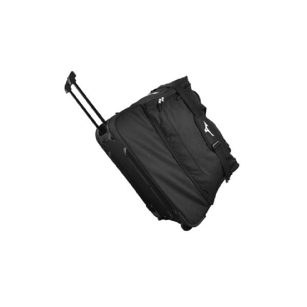 P3EY9W01 - FOOTBALL TROLLEY BAG - Black/Black