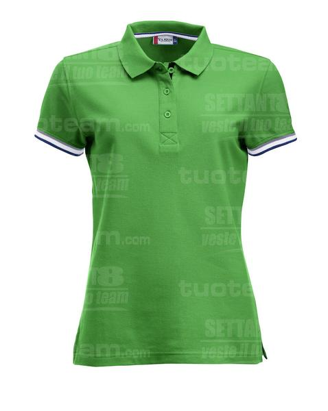 028239 - POLO Newton Lady - 605 verde acido