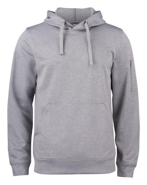 021011 - Basic Active Hoody - 95 grigio melange