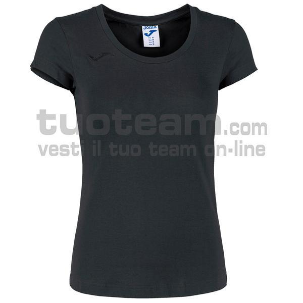 901137 - MAGLIA VERONA 65% polyester 35% cotton - 100 NERO