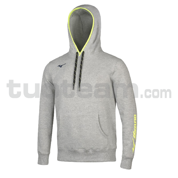 32EC7008 - Sweat FZ Jacket - Heather Grey/Navy