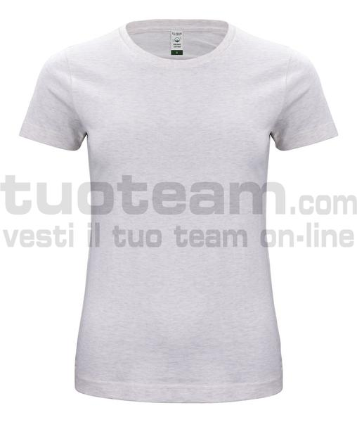 029365 - Organic Cotton T-shirt Lady - melange naturale