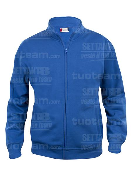 021028 - FELPA Basic Cardigan Junior - 55 royal