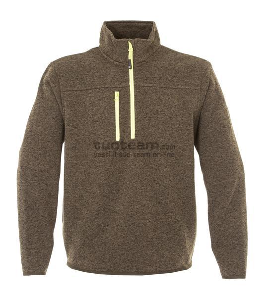 99174 - Knitted Fleece Michigan - ARMY GREEN