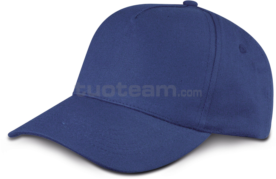 K18040 - CAPPELLINO GOLF 5 PANN. IN COTONE - NAVY