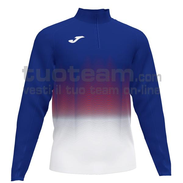 101541 - ELITE VII FELPA 90% polyester 10% fleece elastane - 722 ROYAL