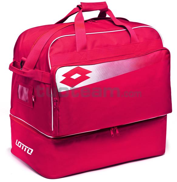 L53095 - BAG SOCCER OMEGA JR II - rosso / bianco