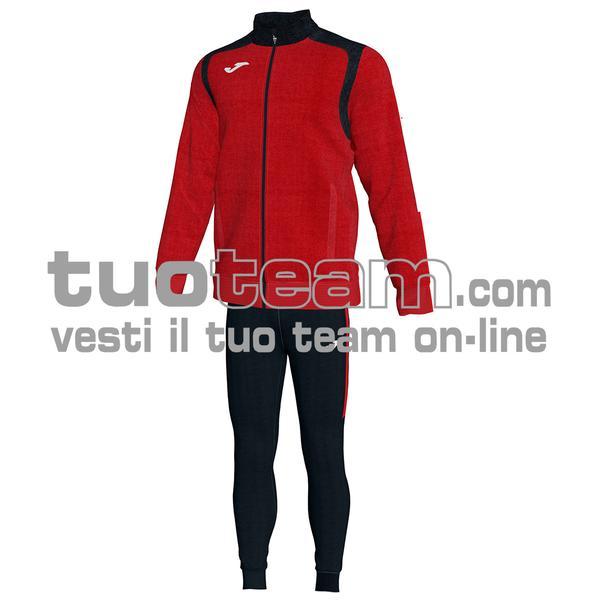 101267 - TUTA CHAMPION V 100% polyester interlock - 601 ROSSO/NERO