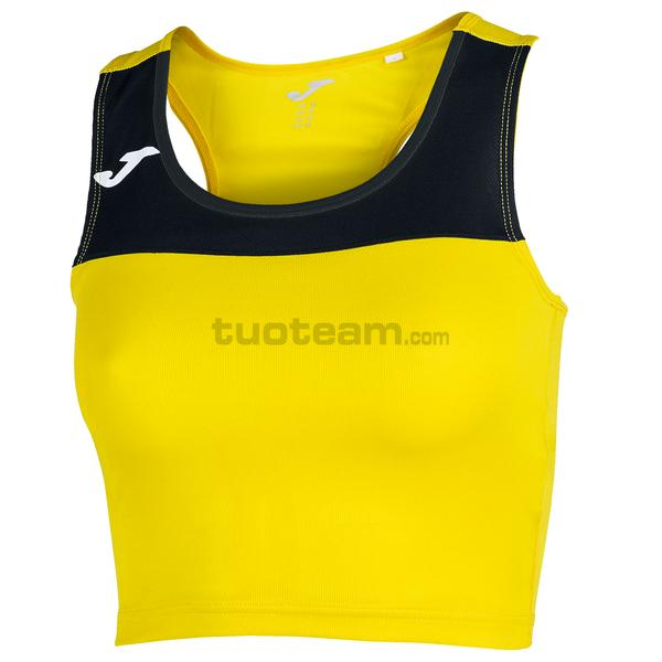 900758 - RACE WOMAN TOP RACE - 901 GIALLO / NERO
