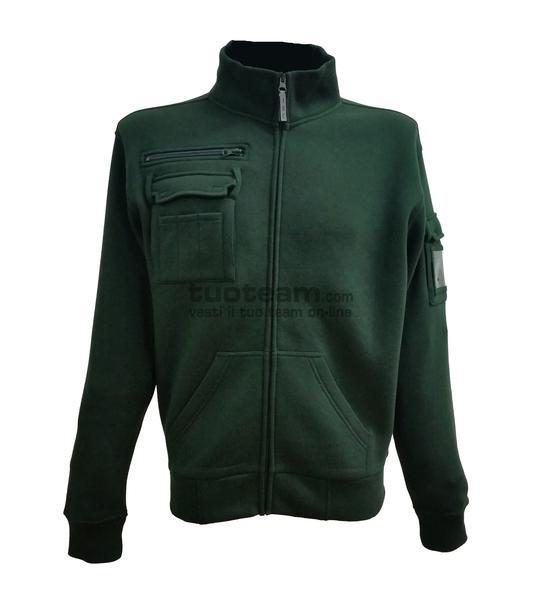 99024 - ITALY - Felpa - Camouflage Green