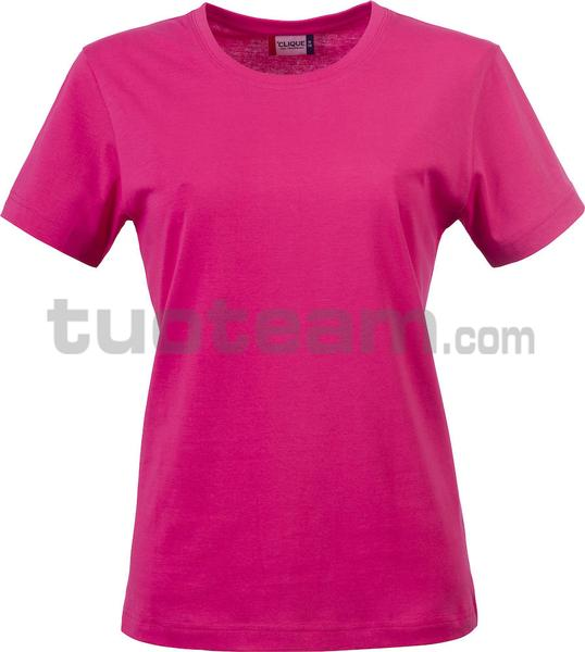 029031 - Basic-T T-SHIRT Lady - 300 lampone