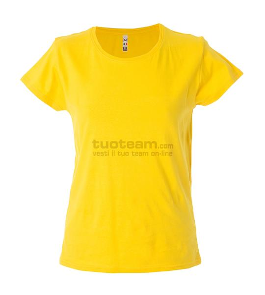 99093 - T-Shirt Argentina Lady - GIALLO