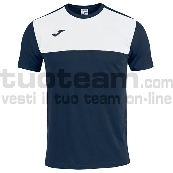 101683 - CAMISETA WINNER ROYAL-MARINO M/C - 332 DARK NAVY / BIANCO
