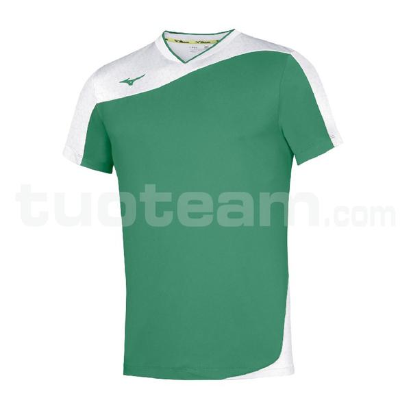 V2EA7004 - premium myou t shirt - Green/White