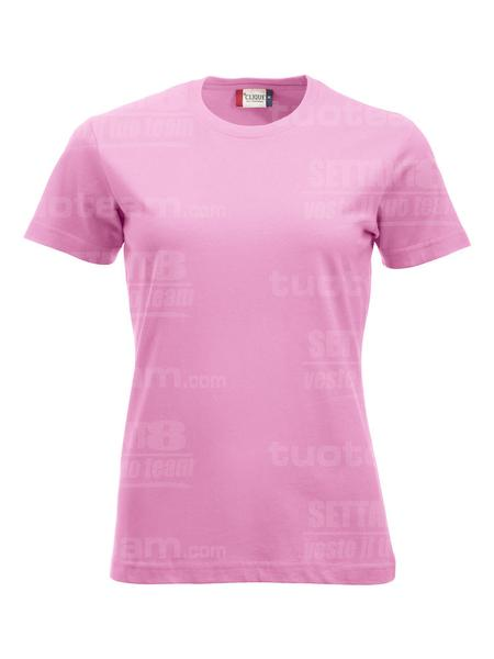029361 - T-SHIRT New Classic T Lady - 250 rosa brillante